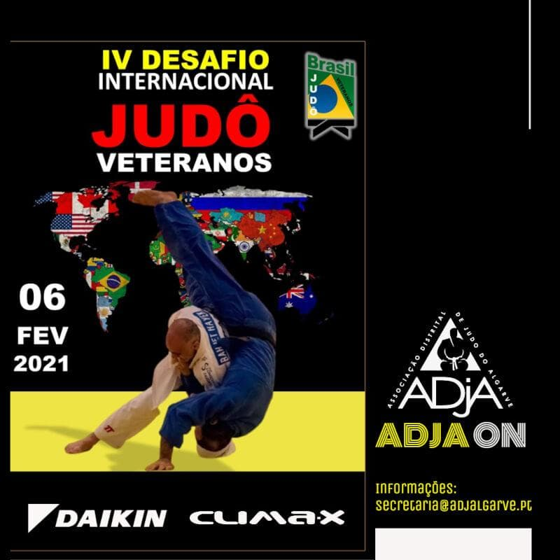 ADJA ON - IV Desafio Internacional Judo Veteranos